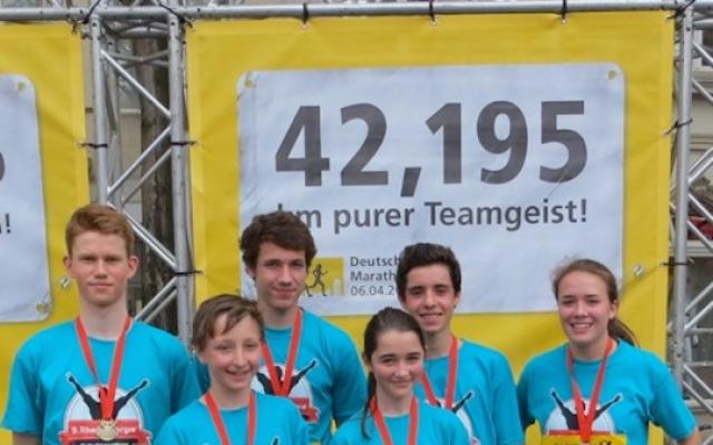 Schulmarathon 2014 1