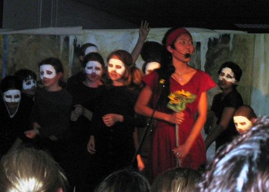 Persephone im Reich der Toten