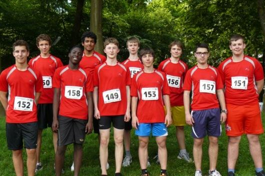 Stadtmeisterschaften 2012 WK II Jungen