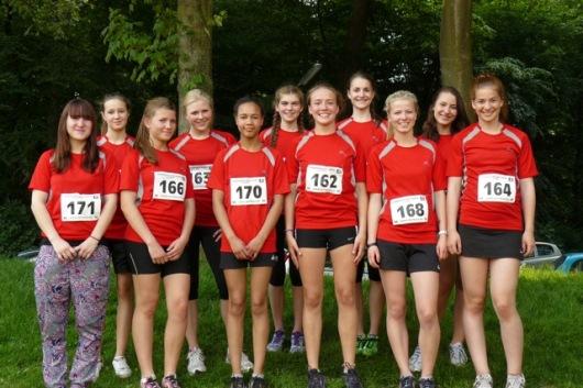 Stadtmeisterschaften 2012 WK II Mädchen