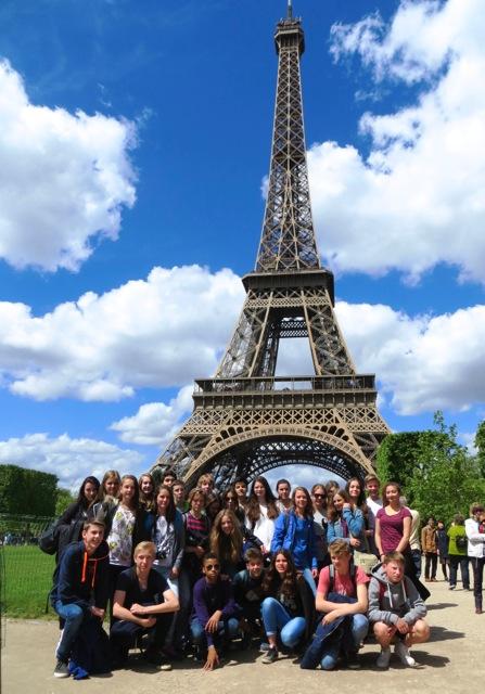Frankreichaustausch 2015 in Paris