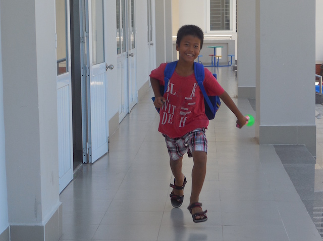 Ein Junge im Heim in Vung Tau
