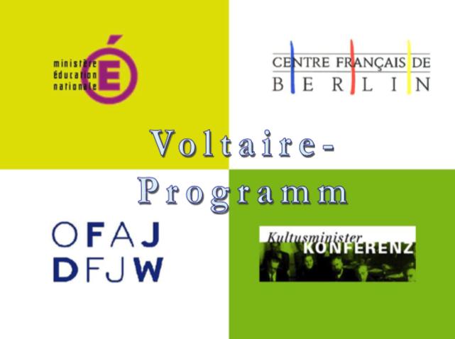Voltaire-Programm Titelbild