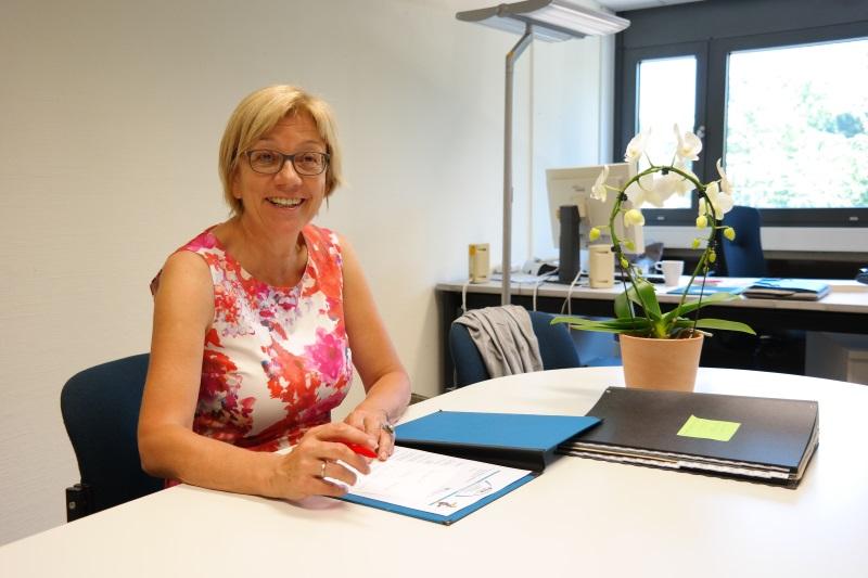 Frau Hartmann - unsere neue Schulleiterin