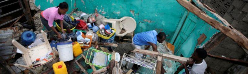 Haiti nach Hurricane Matthew - Aufräumarbeiten